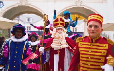 Intrede Sinterklaas op Meir!